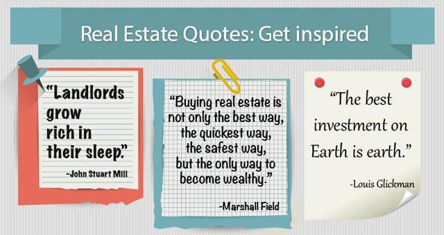 CapitalBrain » [Inforgraphic] Real Estate Quotes: Get inspired